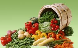 Alkaline Veggies - page contains a useful long list of foods which are low, moderate, high in alkaline levels.