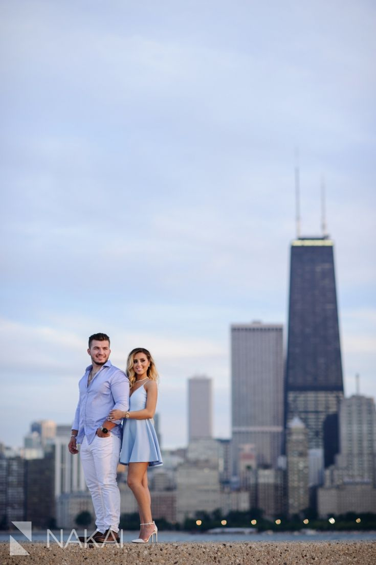 Best  Chicago Engagement Photos Ideas On Pinterest - Chicago map north avenue beach