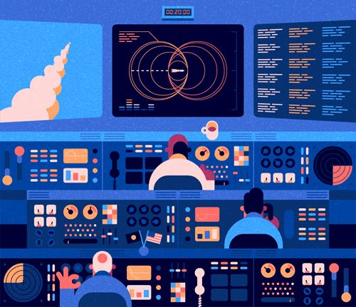On the Creative Market Blog - The 30 Best Animated GIF Artists on the Web