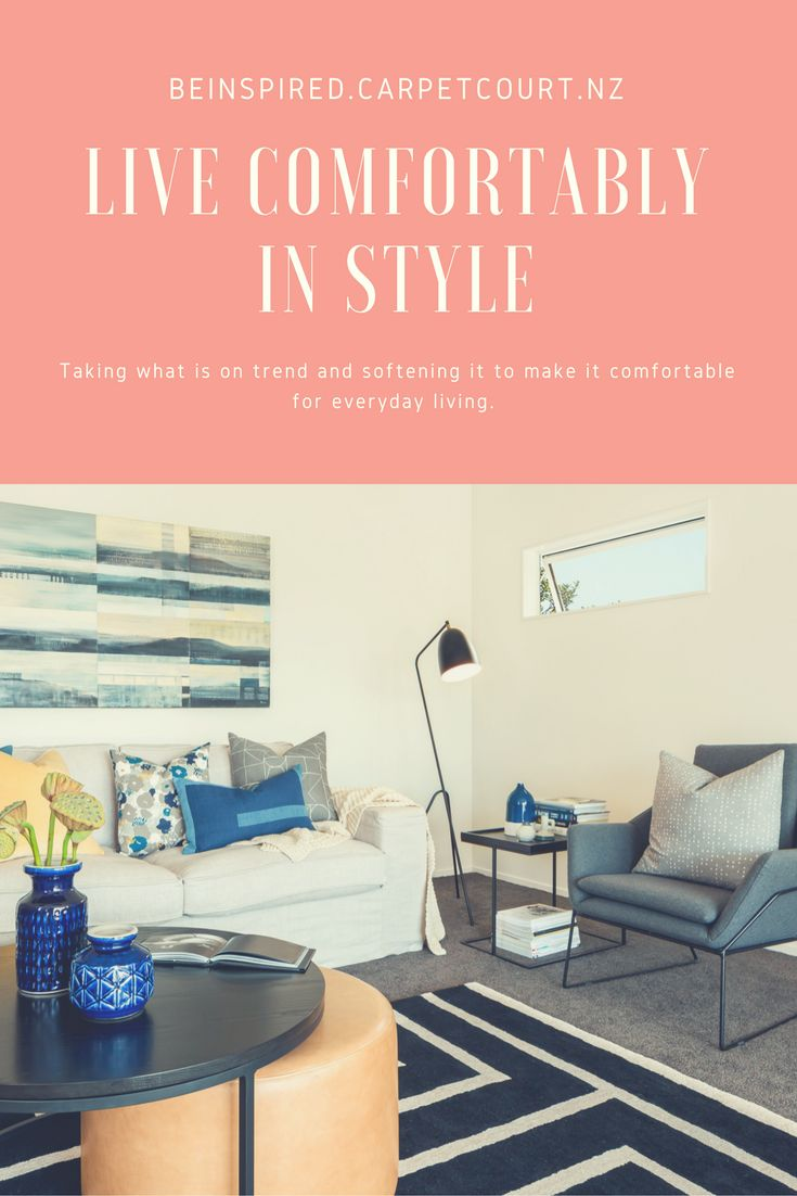 Head over to our blog to read how to create the Comfortable Contemporary style