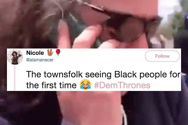 21 Hilarious Game Of Thrones Reactions From Black Twitter Buzzfeed Game Of Thrones Reaction Funny Memes Hilarious