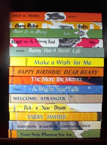 The Beany Malone Series I Must Have Read These Books 100 Times