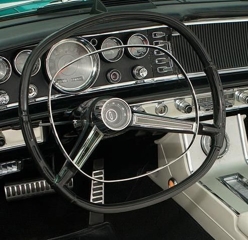 The Square Ish Steering Wheel Chrysler Used For A While