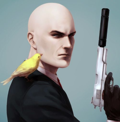 It's 47 with his canary I finished it.But some one told me that no guns would be better…… _(:τ」∠)_I think so