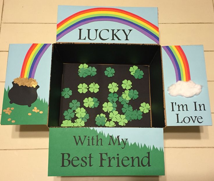 """Lucky I'm In Love With My Best Friend"" St. Patrick's Day Care Package"