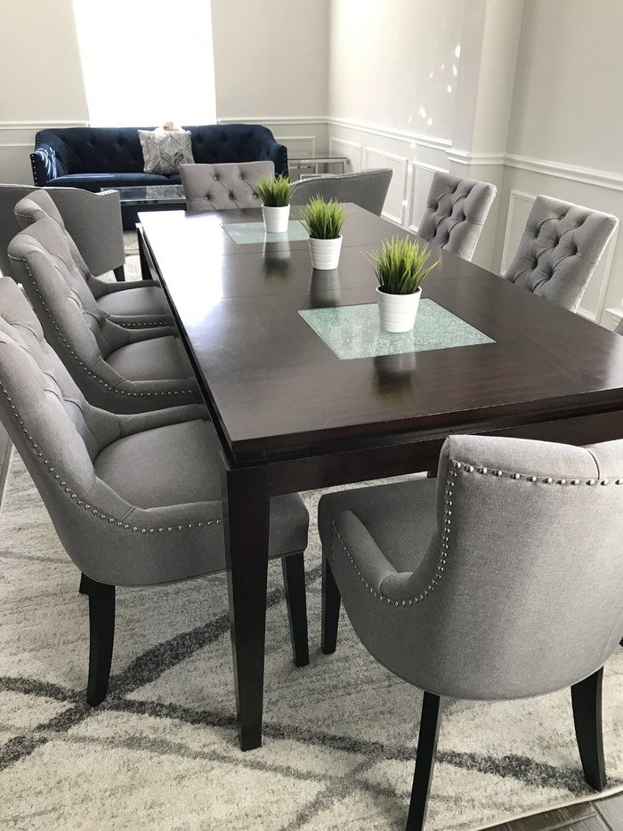 Burslem Regent Upholstered Dining Chair Dining Room Design