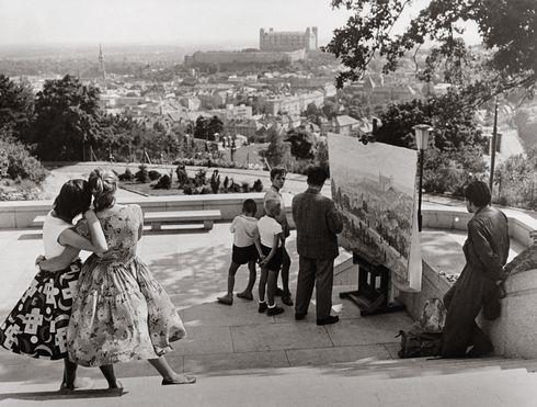Ivan Kozáček: Zaujaté krásou, 1960, Bratislava, SNG