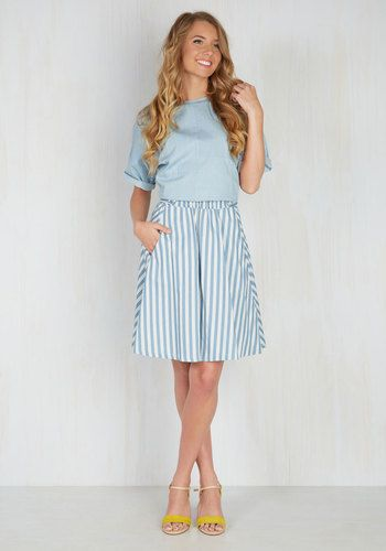 Love Will Find a Railway Skirt | Mod Retro Vintage Skirts | ModCloth.com