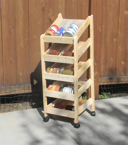 Canned Food Storage Pantry And Design On Pinterest: 1000+ Images About Food Storage Can Rotators On Pinterest