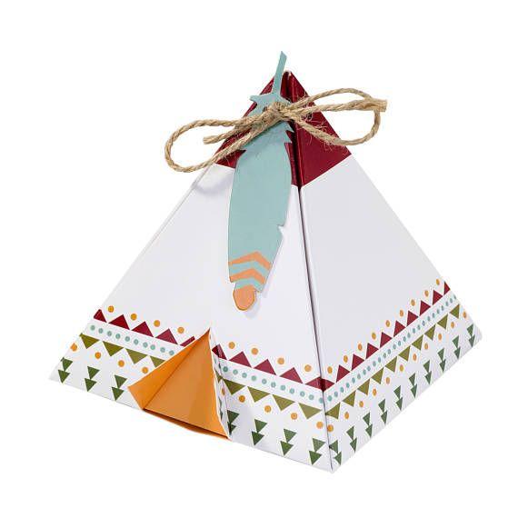 Cajas a favor - salvaje del partido - partido favores - Pow Wow partido - Tribal - Cactus Baby Shower - salvaje un cumpleaños - caja de regalo - Azteca bebé