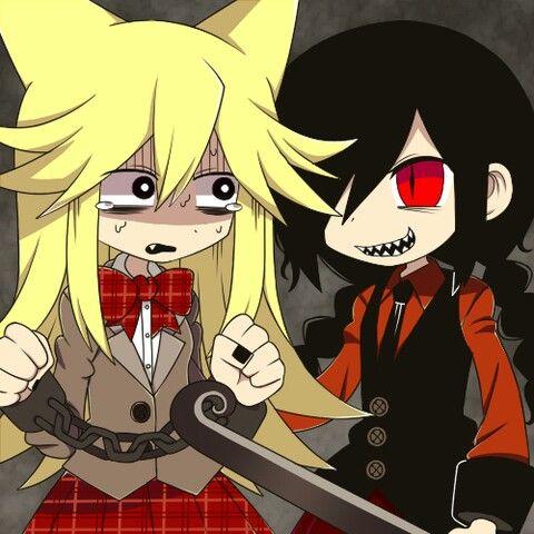 Yonaka and Moge-ko switch roles -  Mogeko Castle