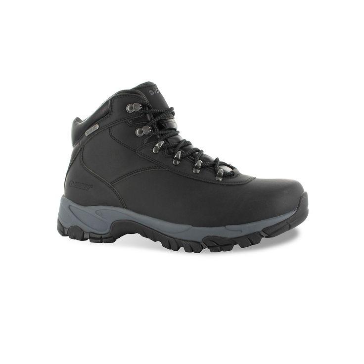 Hi-Tec Altitude V Men's Waterproof Hiking Boots, Size: medium (11.5), Black, Durable