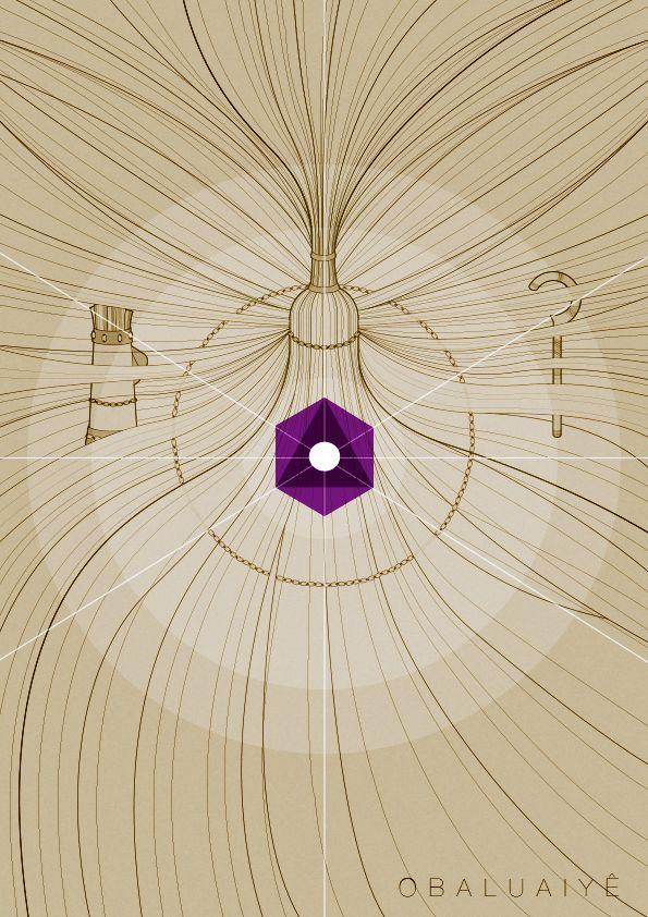 Obaluayê é a Divindade que está assentada no pólo positivo ou irradiante da Linha da Evolução, que é a sexta Linha de Umbanda. É o Trono Masculino da Evolução, que representa e irradia a Vibração Divina que promove a Evolução contínua de todos os seres e elementos da Criação. Ele é o Senhor das Passagens de um plano para outro, de uma dimensão para outra, de um estado ou condição para outra, e mesmo do espírito para a carne e vice-versa, pois atua diretamente no processo reencarnatório.