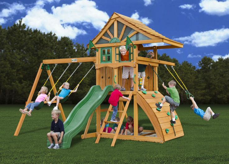 7 Best The Best Swing Sets Images On Pinterest Wooden