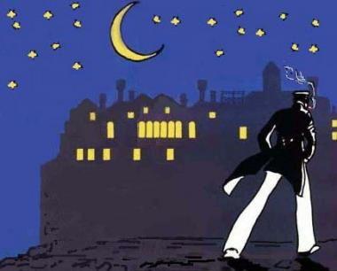 """""""Gravava ormai nella sala il sentimento della notte, quando le paure escono dai decrepiti muri e l'infelicità si fa dolce, quando l'anima batte orgogliosa le ali sopra l'umanità addormentata. [...] E fuori sempre la pioggia. """"https://www.facebook.com/pages/Corto-Maltese/183002165056863"""