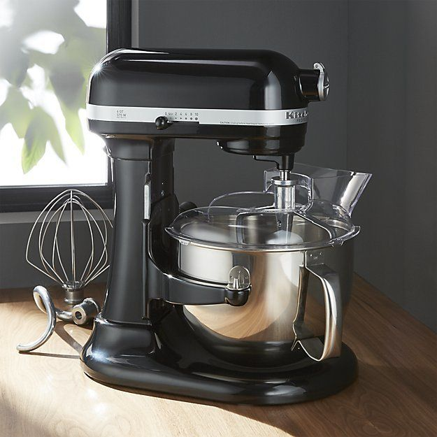 Crate & Barrel KitchenAid ® Pro 600 Onyx Black Stand Mixer