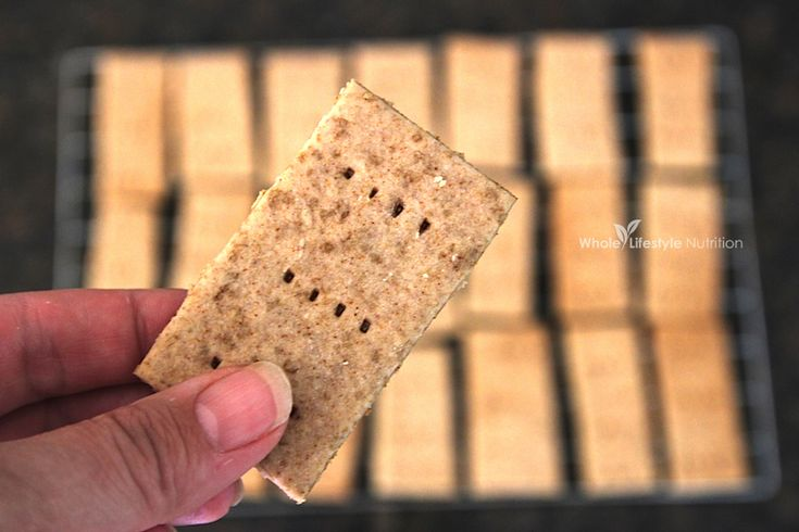 Gluten Free Graham Cracker Recipe | WholeLifestyleNutrition.com