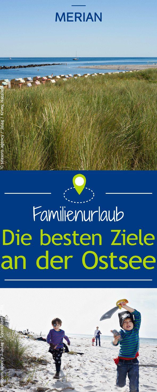 Wir haben für euch die besten Ziele für einen Familienurlaub an der Ostsee!