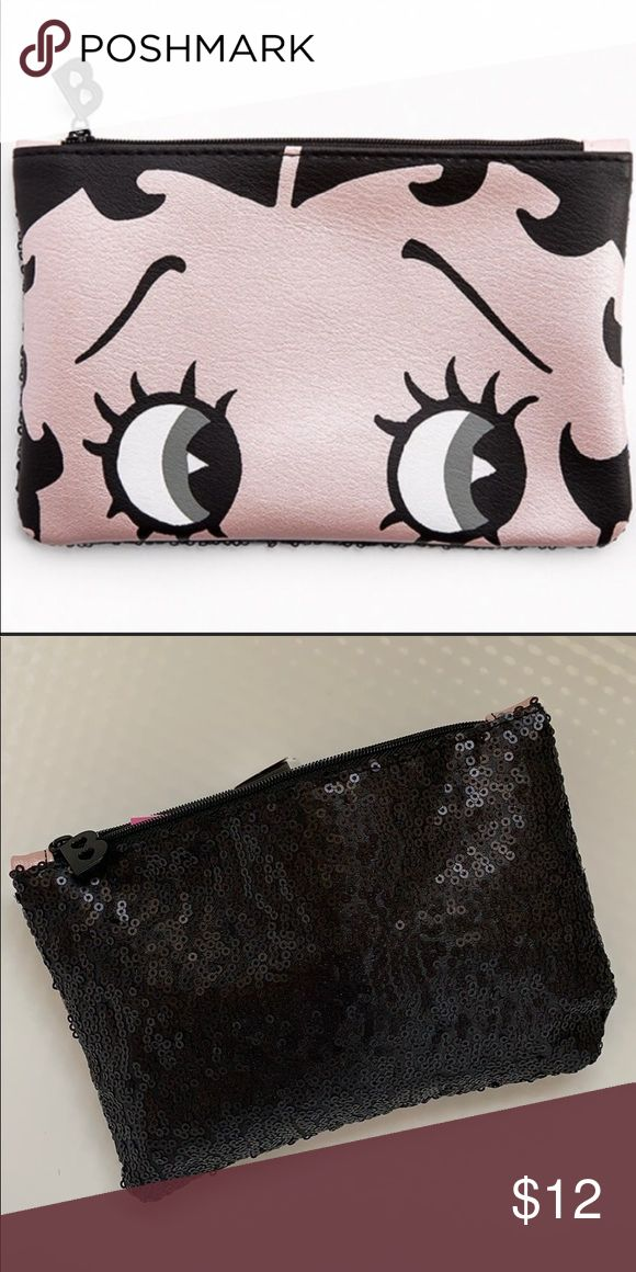 NEW! Betty Boop small makeup bag🌟 3/25 in 2020 Small