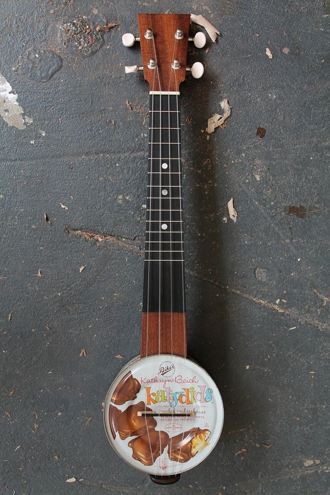 Image of Katydids Candy Tin Ukulele