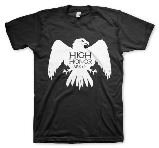 as high as honor game of thrones remeras color animal