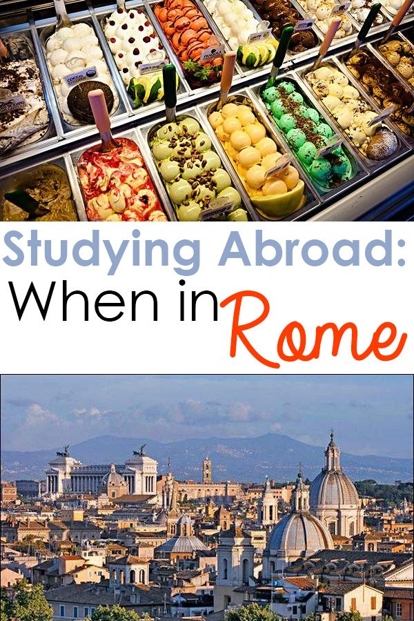 8 Surprising Things About Study Abroad in Rome