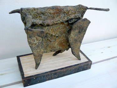"Saatchi Art Artist Dan Vaspi; Sculpture, ""Taurus"" #art"
