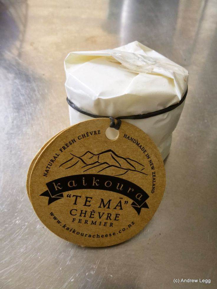 "Around the world in 80 cheeses: #41 - Chevre ""Te Ma"" from Kaikoura Artisan Cheese"
