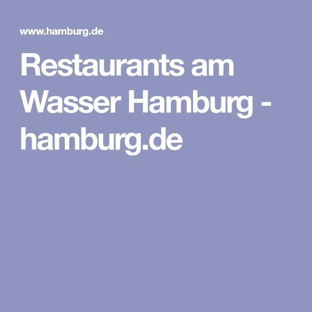 Restaurants am Wasser Hamburg - hamburg.de