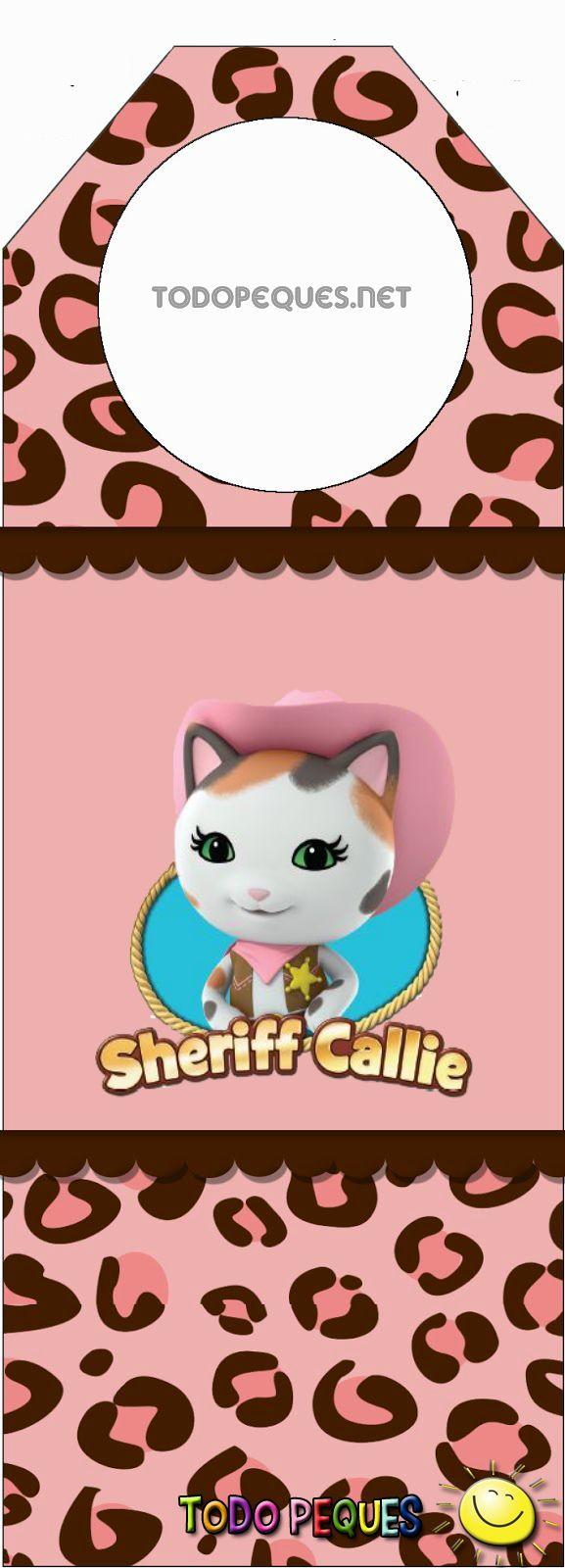 Nuevo kit imprimible que contiene muchos diseños para lograr una mágica decoración en ocasión de celebrar el cumpleaños de las más pequeñas de la familia con temática de Sheriff Callie´s. Cajitas p…