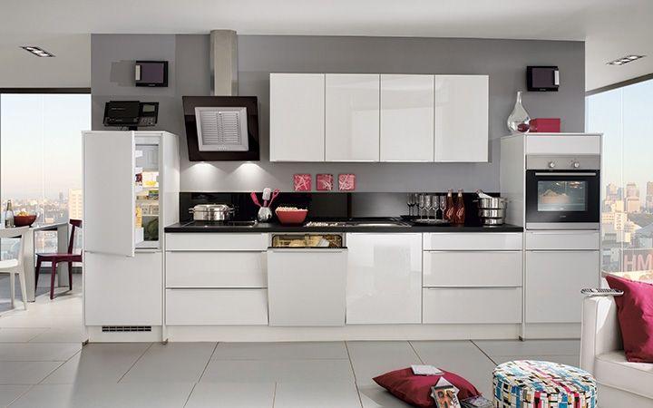 ... blad maken dit een ultra moderne keuken voor echte minimalisten