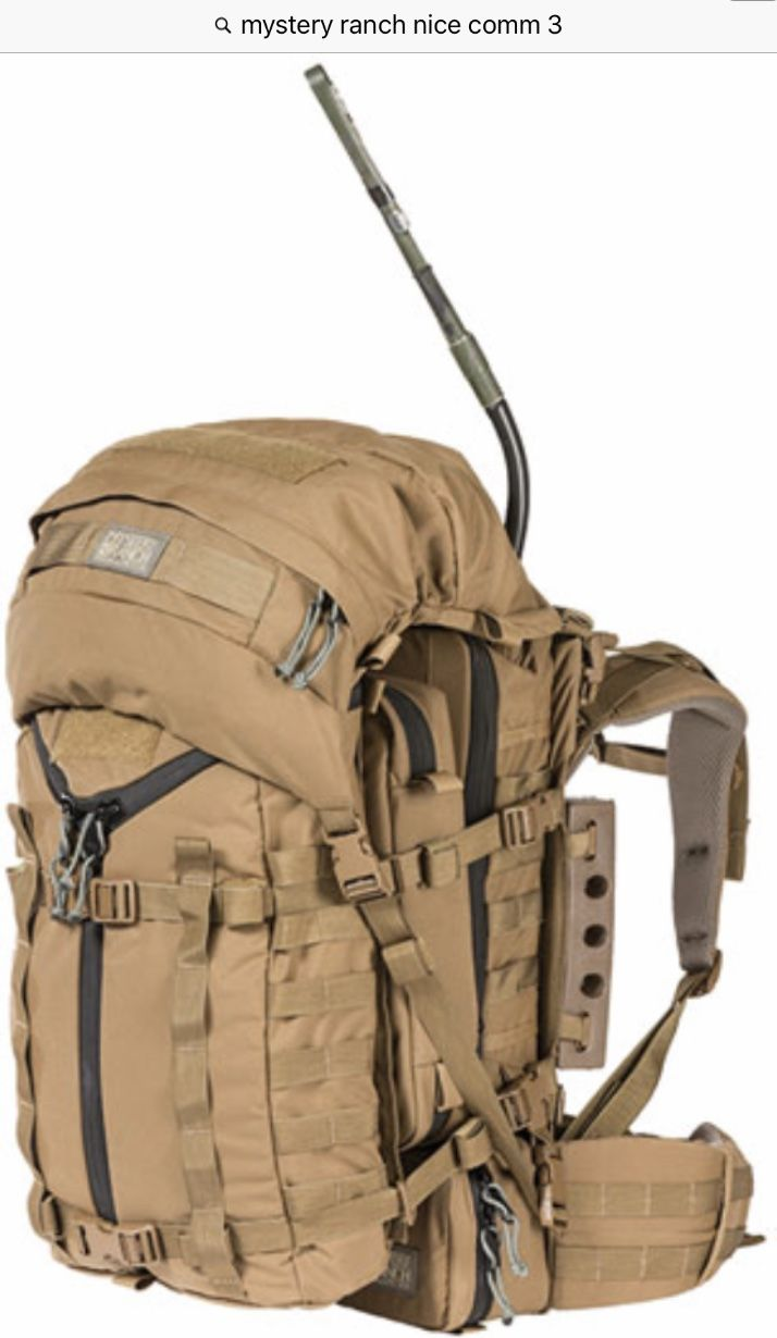 61e7e541d78b0 Mystery Ranch Nice Comm 3, Hitchhiker pack and Daypack lid. | Combat ...