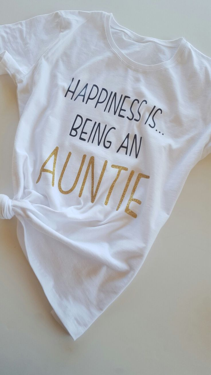 Auntie tees, auntie shirts