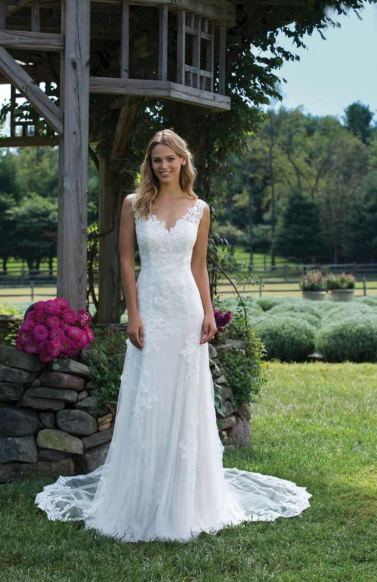 New Bridal Gown Available at Ella Park Bridal | Newburgh, IN | 812.853.1800 | Sincerity - Style 3976 with Detachable Train