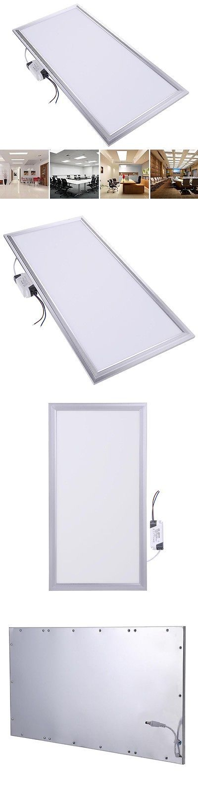 Lamps And Lighting: 24W Led Recessed Ceiling Light Square Smd Panel Down Light Bulb Cool White Home BUY IT NOW ONLY: $37.9