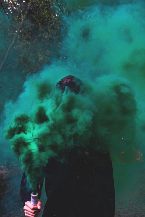 "captvinvanity: "" Smoke Grenade   Photographer   CV  """