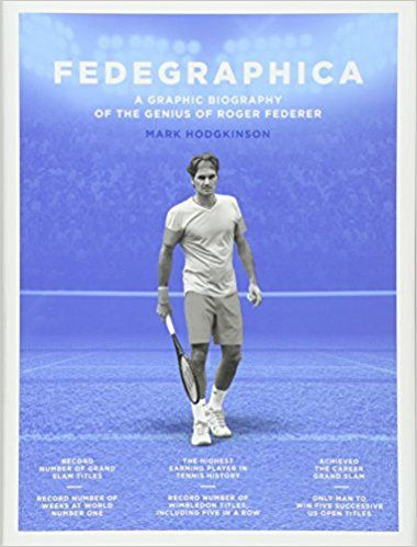 Fedegraphica: A Graphic Biography of the Genius of Roger Federer: Amazon.co.uk: Mark Hodgkinson: 0884658138199: Books