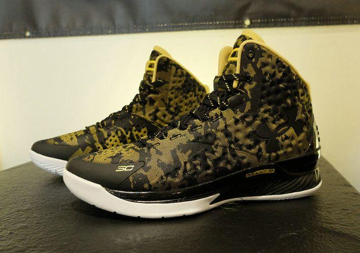 71a1b5a2a9c4d UA Steph Curry One Black Yellow Camo | Steph Curry Shoes 2015 ...