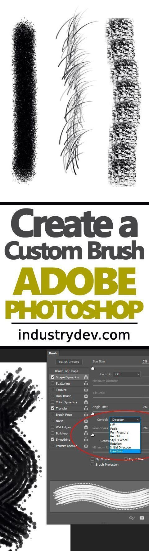 How To Create Custom Brushes in Adobe Photoshop: If you're an illustrator or someone who merely needs to use a brush that isn't found as a preset in Adobe Photoshop, this post was written just for you. Photoshop offers an enormous amount of flexibility wh