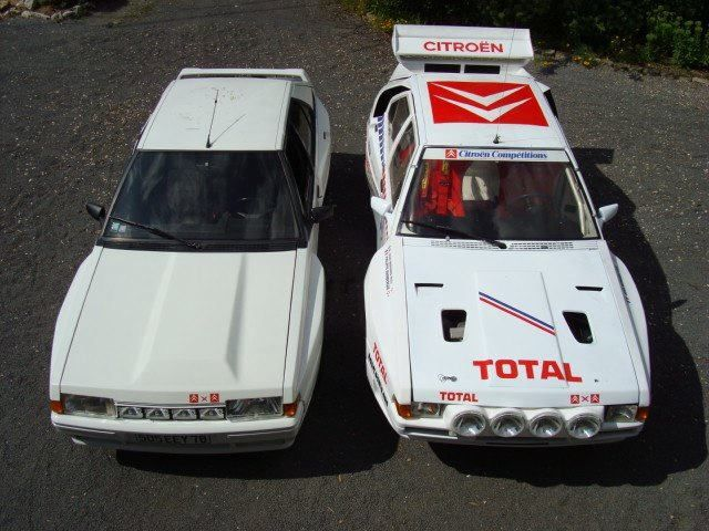 Citroen BX4TC Group B