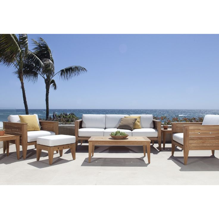Craftsman Sofa & Lounge Chair Set - Westminster Teak Outdoor Furniture