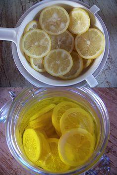 Citrons confits à l'huile d'olive - Maghreb - Moyen-Orient