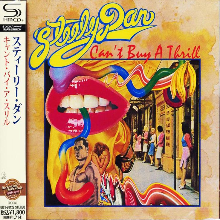 Steely Dan - Can't Buy A Thrill - Japan Jewel Case SHM - UICY-20122 - CD