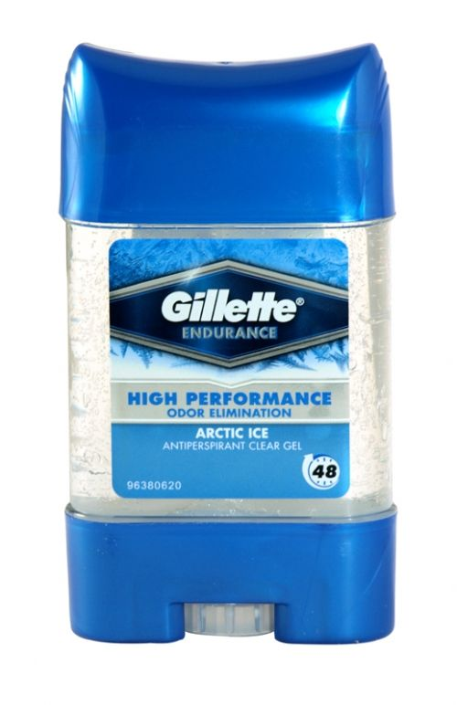 Gillette endurance antiperspirant clear gel 70ml arctic ice