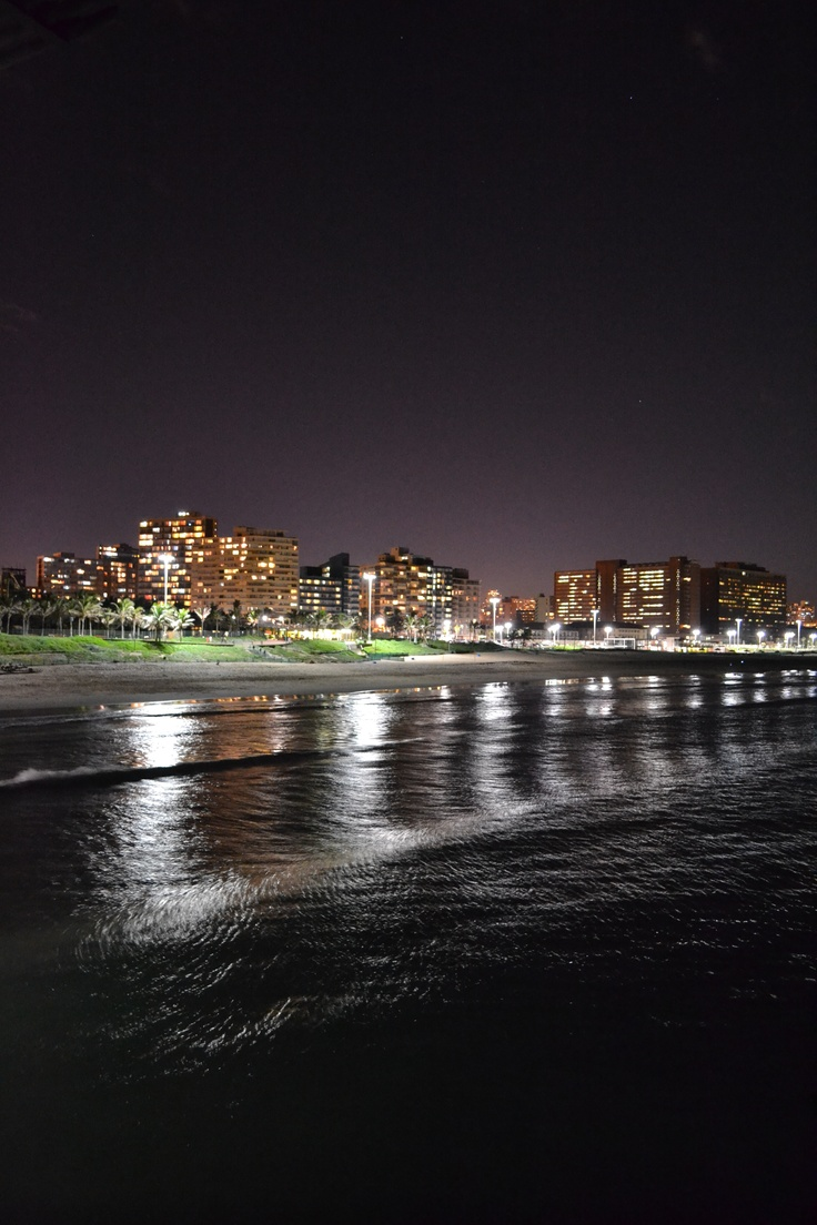Pic from the pier at Durban Beach, South Africa