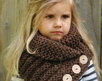 Crochet PATTERN-The Tuscyn Cowl Toddler Child by Thevelvetacorn