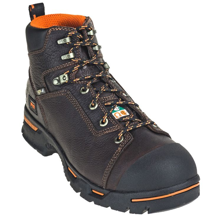 Timberland Pro Boots Men's Endurance PR 52562 Brown Steel Toe EH Boots