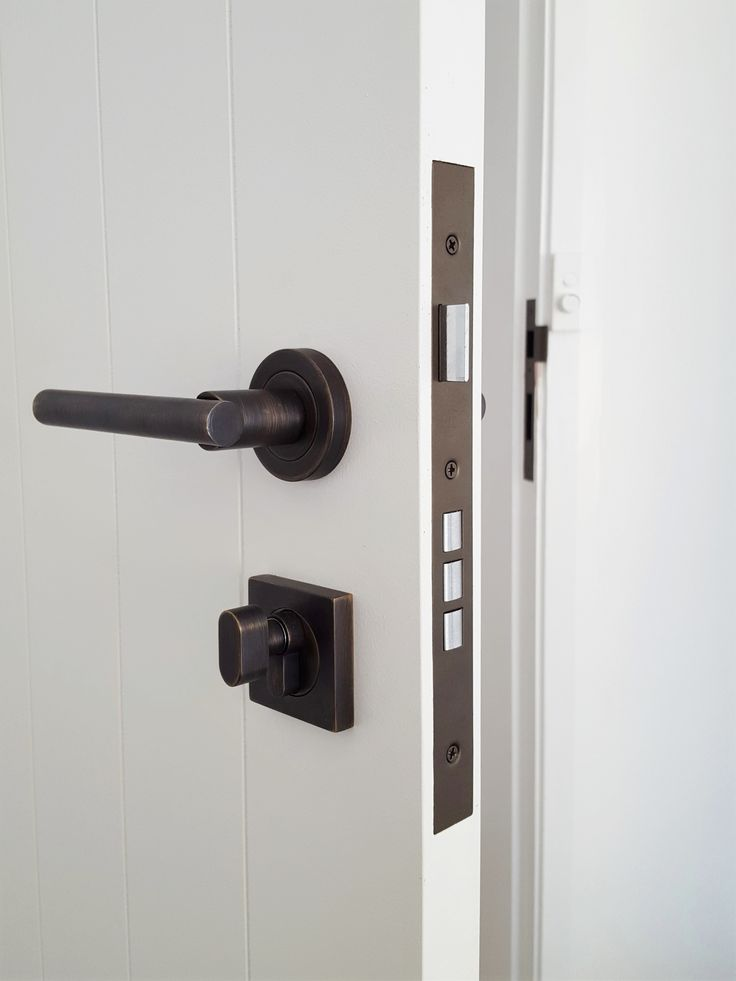 Designer Doorware - Ema lever set on a high security euro mortice lock. Installed by The Tidy Tradie - Finishing Carpenter. & 212 best Architectural Door Hardware images on Pinterest ... pezcame.com