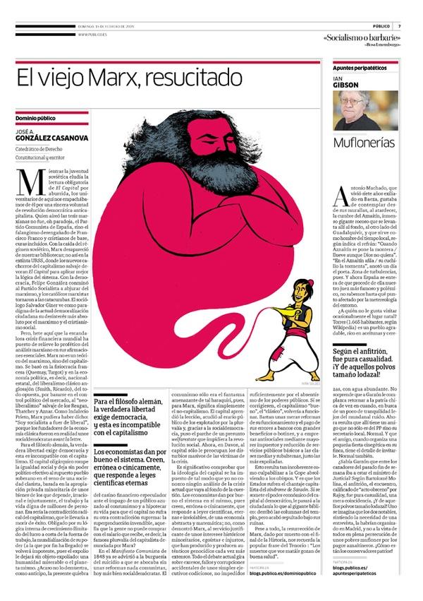 Marx returns, by Ivan Solbes, via Behance