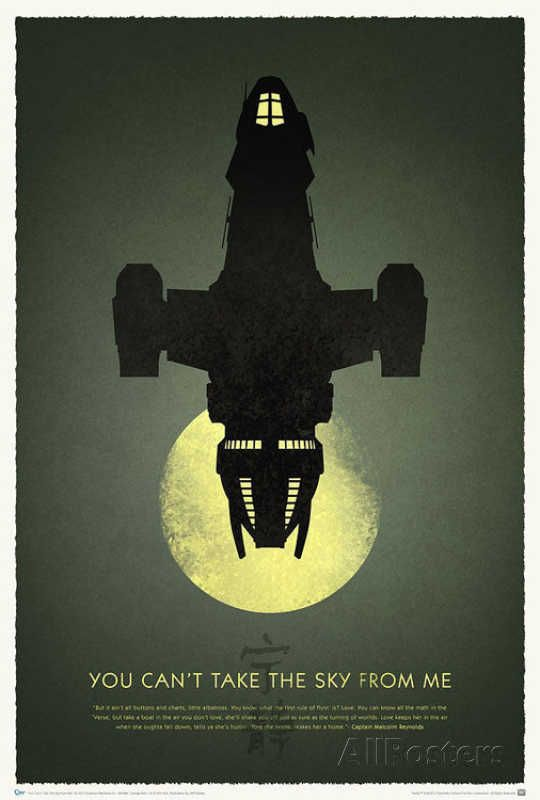 Firefly 10th Anniversary - You Can't Take the Sky from Me Posters sur AllPosters.fr